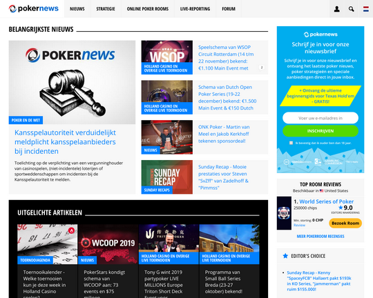 NL PokerNews Logo